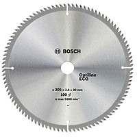 Циркулярный диск Bosch 305×30 100 Optiline ECO
