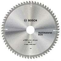 Циркулярный диск Bosch 210×30 64 Multi Material ECO