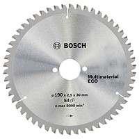Циркулярный диск Bosch 190×30 54 Multi ECO