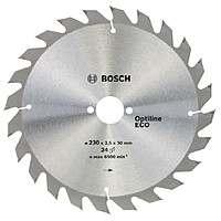 Циркулярный диск Bosch 230×30 24 Optiline ECO
