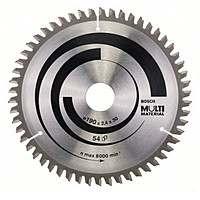 Циркулярный диск Bosch 190×30 54 Multi Material