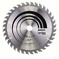 Циркулярный диск Bosch 190×20 36 Optiline