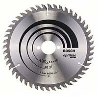 Циркулярный диск Bosch 190×30 48 Optiline