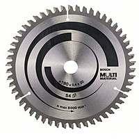 Циркулярный диск Bosch 190×20 54 Multimater