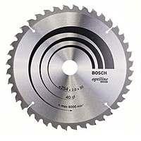 Циркулярный диск Bosch 254Х30Х2 40 GCM 10