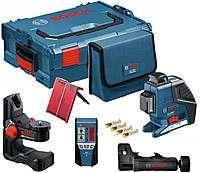 Линейный лазерный нивелир Bosch GLL 2-80 P 1 BM1 1 LR2 в L-Boxx, 0601063209