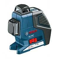 Линейный лазерный нивелир Bosch GLL 2-80 P 1 вкладка под L-Boxx, 0601063204