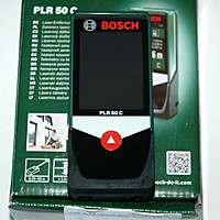 Лазерный дальномер Bosch PLR 50 C, 0603672220