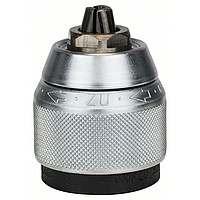 Патрон для дрели Bosch быстрозажимной 1,5-13мм 1/2, 2608572149