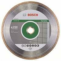 Алмазный отрезной круг Bosch Professional for Ceramic250x30/25,4
