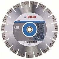 Алмазный отрезной круг Bosch Best for Stone300x20/25,4