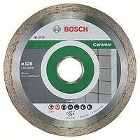 Алмазный отрезной круг Bosch Standard for Ceramic125x22,23, 10 шт в уп.
