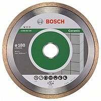 Алмазный отрезной круг Bosch Professional for Ceramic180x25,4