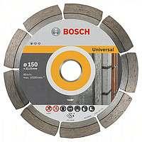 Алмазный отрезной круг Bosch Standard for Universal150x22,23, 10 шт в уп.