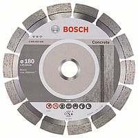 Алмазный отрезной круг Bosch Expert for Concrete180x22,23