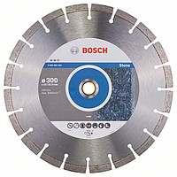 Алмазный отрезной круг Bosch Professional for Stone300x22,23