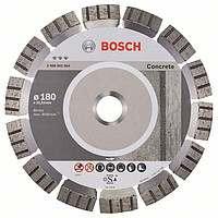 Алмазный отрезной круг Bosch Best for Concrete180x22,23