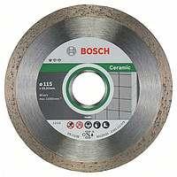 Алмазный отрезной круг Bosch Standard for Ceramic115x22,23, 10 шт в уп.