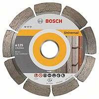 Алмазный отрезной круг Bosch Standard for Universal125x22,23, 10 шт в уп.