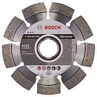 Алмазный диск Bosch Expert for Abrasive 115-22,23