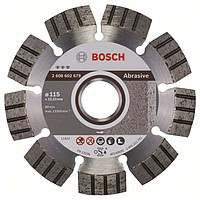 Алмазный диск Bosch Best for Abrasive 115-22,23