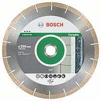 Алмазный диск Bosch Best for Ceramic & Stone 250×25.4mm