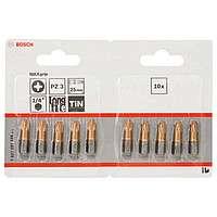 10 бит Bosch 25мм PZ3 TIN, 2607001596