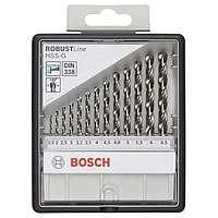 Набор сверл Bosch HSS-G 13 шт, ROBUST LINE, 2607010538
