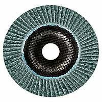 Лепестковый круг Bosch Best керамический корунд Ø125 K60 прокладка из стекловолокна, конусный