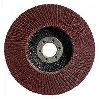 Лепестковый круг Bosch Standard for Metal Ø125 K80 прокладка из стекловолокна, конусный