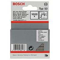1000 скрепок Bosch 12мм Т53, 2609200217