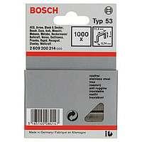 1000 скрепок Bosch 6мм Т53, 2609200214
