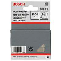1000 скрепок HMT 53 Bosch 4мм Т53 ДЛЯ HT8/14