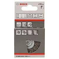 Щетка дисковая Bosch 6 мм 0.2X50 мм витая INOX