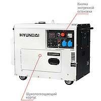 Электрогенератор Hyundai DHY 8000SE