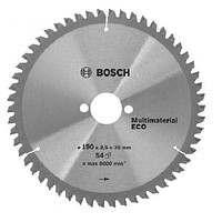 Пильный диск Bosch ECO 150×20-42T (Алюминий, пластик), 2608644387