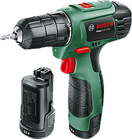 Аккумуляторный шуруповерт Bosch EasyDrill 1200 (2 аккумуляторные батареи)(06039A210B)