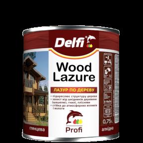 Лазурь для дерева Delfi рябина, 0.5 л