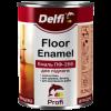 Эмаль для пола ПФ 266 Delfi желто-коричневая, 2.8 кг