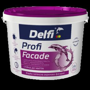 Краска фасадная Profi Facade Delfi матовая, 7 кг