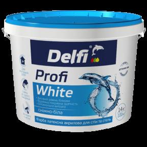 Краска для стен и потолков Profi White Delfi матовая, 7 кг