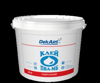 Клей ПВА-МБ DekArt универсальный, 2.5 кг