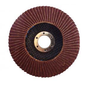 WERK 125х22.2 мм Диск лепестковый плоский