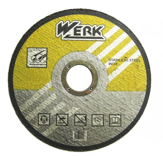Отрезной круг по металлу Werk 180х2х22.2 мм