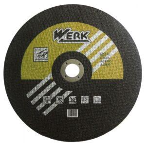 Отрезной круг по металлу Werk 350х3.5х25.4 мм