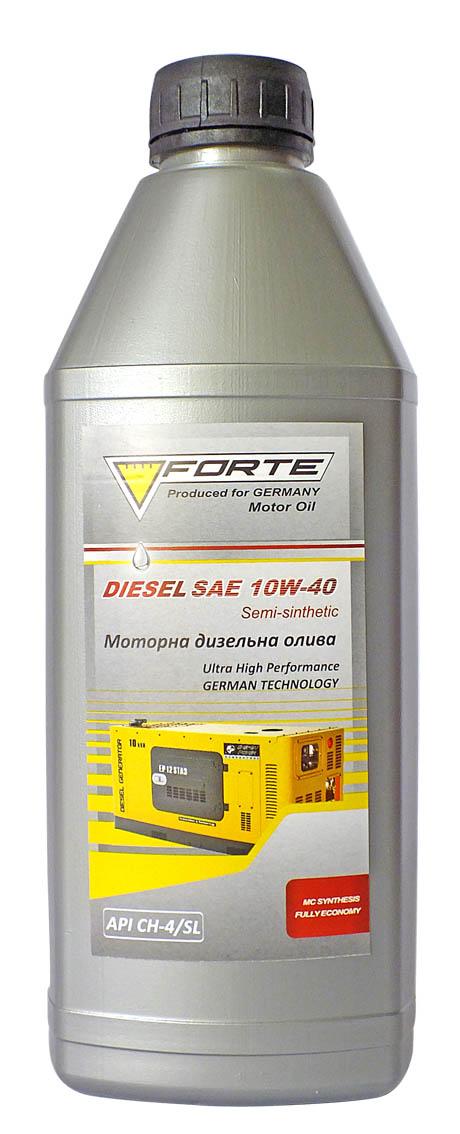 FORTE DIESEL SAE 10W-40 Масло моторное 1 л