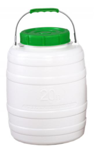 Фляга пластмассовая пищевая 20 л Лемира