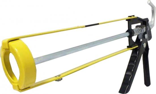 Сталь 31103 Пистолет для герметика профессиональный (скелетный корпус)