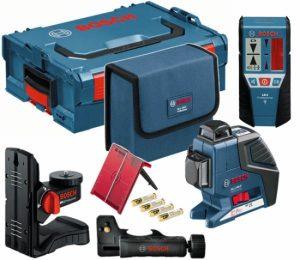 Bosch GLL 3-80 P + LR2 + BM1 в кейсе L-BOXX Лазерный нивелир